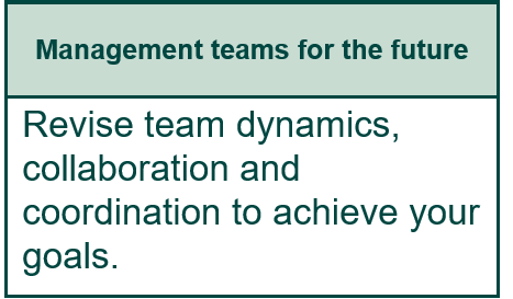 Management teams for the future